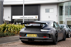 Monochrome (MJParker1804) Tags: black cars 911 clear porsche stealth taillights 991 gt3 pdk