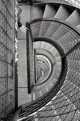 Pure Rape (streetlifephotographer) Tags: street stairs germany marcel streetphotography friedrichshafen wendeltreppe burckhardt streetlifephotographer marcelburckhardt