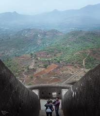 Vertical Perspective (Sumit Mangela) Tags: india vertical landscape perspective maharashtra lonavala lohagarh vertorama