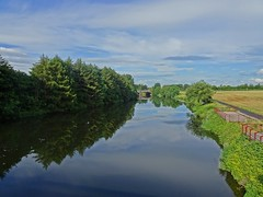 Platforms (Bricheno) Tags: bridge summer reflections river scotland riverclyde clyde glasgow escocia szkocja schottland rutherglen scozia cosse dalmarnock  esccia   bricheno scoia