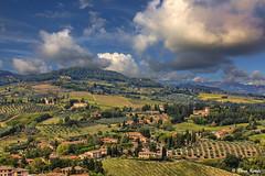 Toskana - 09101503 (Klaus Kehrls) Tags: italien natur himmel wolken landschaft toskana platinumheartaward