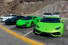Dilemma (tourtrophy) Tags: cars supercars nicecars sportscars luxurysportscars automobile nikoncoolpixa hooverdam navada lamborghini ferrari
