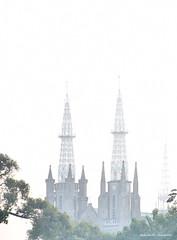 Jakarta Cathedral The Church of Our Lady of Assumption (diSiasono) Tags: building cathedral neogothic