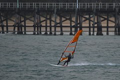 last man standing (J.R.P) Tags: windsurfer wind southerly coffsharbourjetty coffsharbour coffs sports