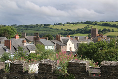 Brecon Rooftops (Raphooey) Tags: park uk trees roof chimney sky cloud tree church wales clouds canon tile eos hill hills roofs national tiles gb walls slate brecon beacons scape chimneys roofscape tiled slates rooves 70d slated chapelstone