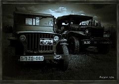 Remember D-Day (ericbaygon) Tags: usa green army nikon war jeep military american guerre dday worldwar militaire 1944 arme kaki nikonpassion d300s