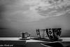 Black and white ... (Gian Floridia) Tags: sea bw sun lighthouse faro mare terrace toast ferrari bn sole portofino vaso brindisi ghiaccio bollicine terrazza ligure bienne spumante icebowl