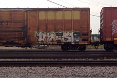 Harsh (Psychedelic Wardad) Tags: graffiti network d30 freight harsh fs dirty30