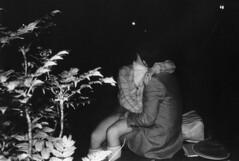 Park love (Leifskandsen) Tags: old vintage copenhagen tokyo love park voyer girl boy petting sex dark night scanned japan
