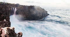Water Blow ~ Bali (Lucy Burtin) Tags: bali seascape outdoor