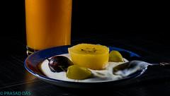 630am Shoot1 (1 of 1) (prasaddas1) Tags: orange juice grapes black green yogurt sppedlights
