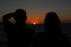 IMG_5232 (Ian.2020) Tags: sunset santorini caldera sky kamari sun aegean sea silhouette greece