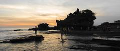 Tanah Lot at Sunset (Corey Hamilton) Tags: travel bali beach temple tanahlot