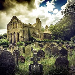 #instatravel #instamood #twitter #beautiful #behance #behappy #history #ruins #abbey #graveyard #walk #cloud #sky #colors #incredible #awesome (AspirePhotography1) Tags: square squareformat iphoneography instagramapp uploaded:by=instagram
