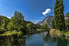 valle dei laghi 160508_066 (gmcvrphoto) Tags: alberi lago nuvola cielo della acqua riflessi montagna calma trentino toblino collina bosco allaperto versante