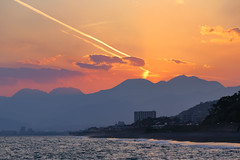Ninomiya Umezawa Coast (Propangas) Tags: travel sunset sea japan coast jp