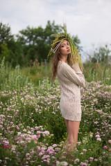 Flower (Nikita Trutenin) Tags: flowers girls summer portrait flower sexy girl beautiful beauty spring meadow