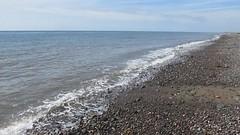 High tide at Biggar Bank (billnbenj) Tags: video surf waves spray cumbria barrow hightide walneyisland biggarbank
