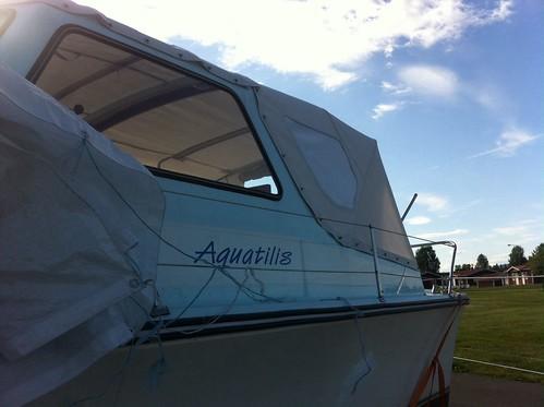 Motorbåt Kapell /Boat Cover