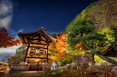 Kyoto Night 7672 (kbaranowski) Tags: autumn nature garden japanesegarden maple kyoto colorful fallfoliage japanesemaple nippon spirituality buddhisttemple nihon beautyinnature krzysztofbaranowski 2016krzysztofbaranowski