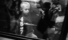 The puppet (Martin Gleerup) Tags: life street portrait bw 35mm sweden trix documentary 1600 malm leicam6 rd citytunnelen martingleerup