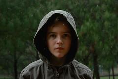 Rain Boy (katelynnparedes1) Tags: trip boy summer vacation green rain forest canon relax mexico model jalisco adventure jacket raining tress cdmx canont3i