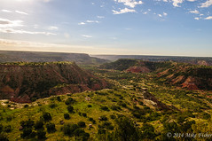 A Sunny Day in Palo Duro Canyon (BFS Man) Tags: d300 jackisretirement nikon palodurocanyon texas canyon cloud roadtrip sky statepark