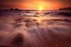 Okinawa kunigami beach sunrise (koshichiba) Tags: 沖縄 国頭村 海岸 朝日 日の出 波 太陽 岩 夏 okinawa kunigamison kumigami beach wave nature sunrise rock japan shore beachside sea seascpae landscape tide skyline