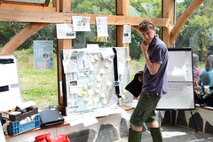 Lots of network information to take in and contribute to (Permaculture Association) Tags: wales cymru noticeboard gathering ecovillage permaculture 2016 lammas paramaethu