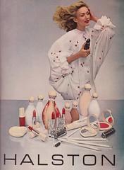 Halston Cosmetics (moogirl2) Tags: vintage retro vogue 70s 1978 70sstyle vintageads halston 70sfashions vintagvogue halstoncosmetics