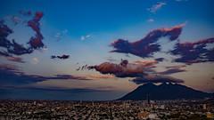 El Cerro de la Silla (EdgarSMR) Tags: city mountain mountains clouds mexico cerro silla nuevoleon monterrey