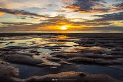 Sunrise at Cha Am beach (Thiwa Maneephet) Tags: beach sunrise thailand chaam phetchaburi