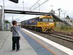 trainee railfan (sth475) Tags: railroad summer train diesel railway overcast loco australia nsw limestone locomotive ge freight dimi nrc pn wollongong illawarra unanderra goninan nrclass nr71 cv409i nr94 wwwaiworgau