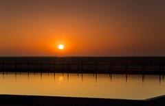Hoylake Sunset (David Chennell - DavidC.Photography) Tags: summer reflection twilight dusk calm wirral merseyside hoylake