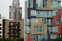 Home Sweet Apartment. [Explore 07/08/16] (Alvin Harp) Tags: sanfrancisco california geometric colorful apartments july 2016 waitingintraffic teamsony sonya7rii fe24240mm sonyilce7rm2 alvinharp