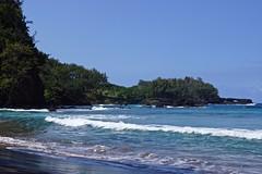 Koki Beach, Hana, Maui, Hawaii (Shauna Norrbom) Tags: maui hawaii beach koki ocean hana