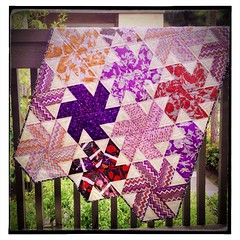 Tiny Dancer Quilt - Fabric is Novella by Valori Wells (Jaybird Quilts) Tags: quilt fabric novella tinydancer valoriwells jaybirdquilts uploaded:by=flickrmobile flickriosapp:filter=nofilter