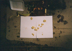 (Tom Cabrera) Tags: food film frutas fruits fruit wasted trash kodak banana fruta basura asco restos descartable