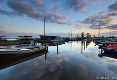 New Season-8248 (SaskiaJans) Tags: sunset lake water boats boot boat spring zonsondergang boten lente leek nietap leekstermeer cnossen