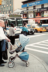 (brian james) Tags: life street nyc blue girls woman color film girl corner standing 35mm studio photography james interesting women manhattan brian flash scene east kip study brianjames cz adventures 23rd gramercy repeating colorstudy brianjamesphotography briankip httpbrianjamesphotographynet httpbrianjamesphototumblrcom httpbriankipcom