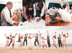 wedding collage (Ryan S Burkett | RSB Photography) Tags: pink wedding light party beach garter fashion photoshop de dance engagement jump nikon diptych kiss triptych dress flash first marriage shades adobe license delaware contract dewey bridal rehoboth bounce shaes lewes fill natty cs6 d300s sb910
