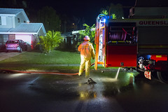 even fire trucks have to go (bottle top) Tags: he caught me even fire trucks truck firefighters firefighter leaking or calling base call home out front almost burning house medics just incase street normal quite albany creek brisbane suburbs