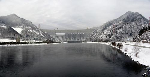 Sayano–Shushenskaya Dam, СШГЕС, Хакасия