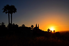 Sunset Over Escondido (Art4TheGlryOfGod) Tags: california sunset silhouette sandiego palmtrees escondido art~4thglryofgod