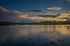 Zalazak sunca (Sunset on Sava river) (dejanspd) Tags: sunset belgrade fortress beograd kalemegdan tvrdjava belgradefortress belgradesunset belgradephoto