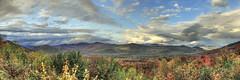 Bear Notch Road (Nicolas Doak) Tags: road summer panorama cloud clouds canon nh mtn late photomerge range vantage vast photomatix panostitch 50250 t2i