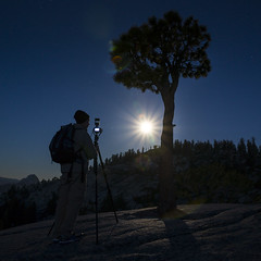 Moonlit (Luvin' the light) Tags: fullmoon yosemite olmsteadpoint perigee httpwwwflickrcomphotosyahoonewsgalleries72157634293036866