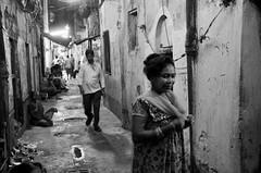 Facing one's own (shankarsarkar) Tags: street portrait india man night blackwhite women mother relationship kolkata intimacy westbengal sonagachi redlightarea trafficked