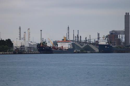 Algocanada & Algorail at Port in Sarnia, Ontario, Canada