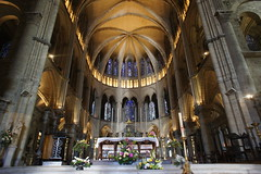 Reims church interior